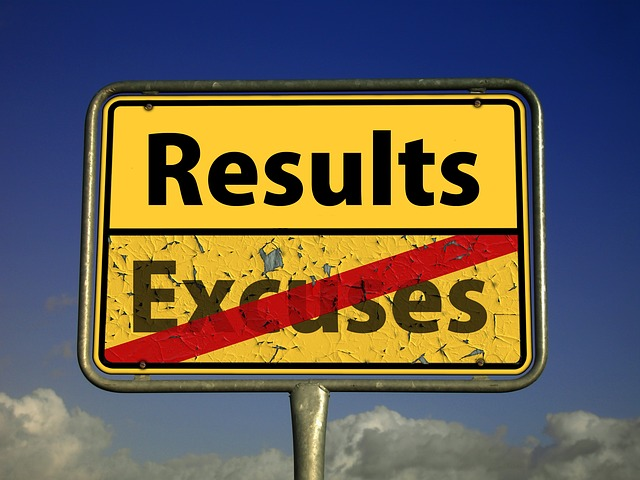 results-excuses